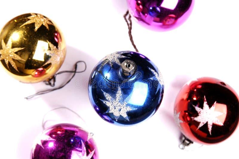 Christmas decorations. Christmas decoration isolated on white stock image