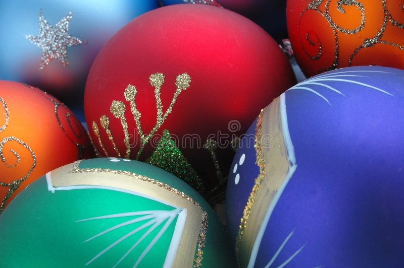 Download Christmas decorations stock image. Image of green, holiday - 44029