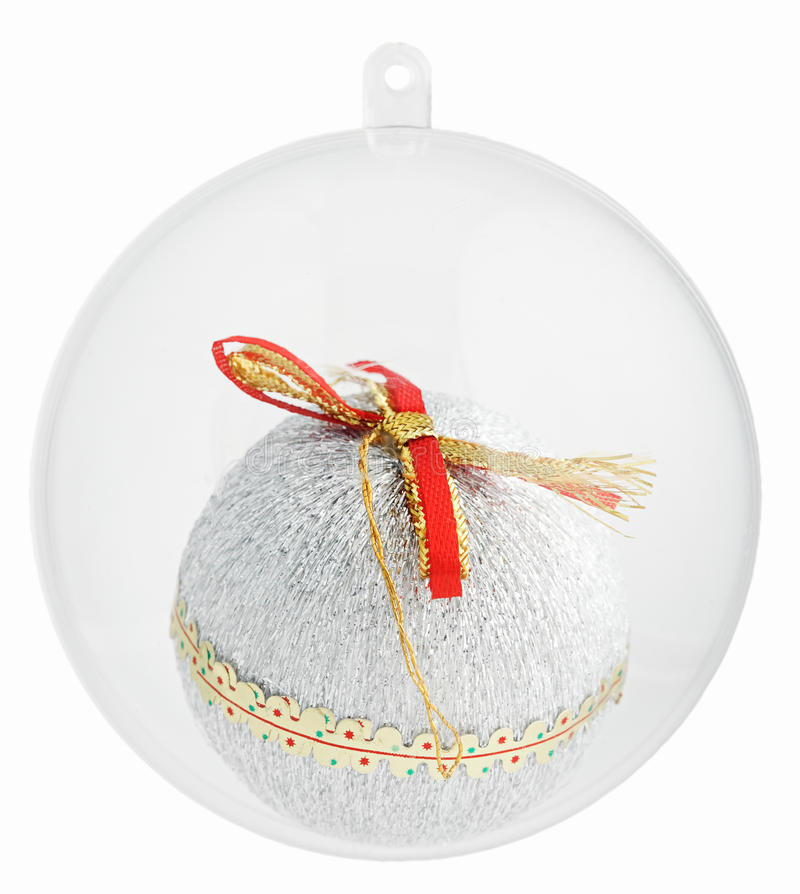 Download Christmas Decorations Ball Inside Glass Sphere Of Stock Photo - Image: 11683150