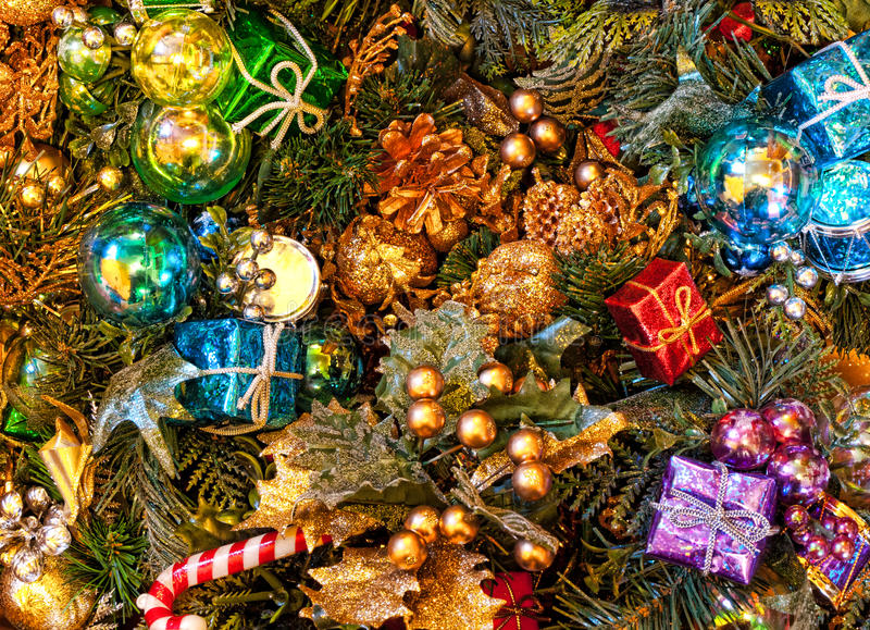 Download Christmas decorations stock image. Image of presents - 35906051