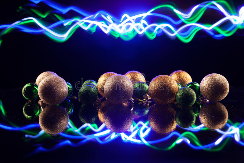 Download Christmas Decorations Bulb And Lights Royalty Free Stock Photo - Image: 36023245