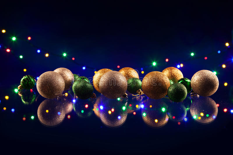 Download Christmas Decorations Bulb And Lights Stock Photo - Image: 36023302