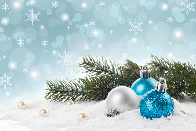 Christmas decorations concept stock image