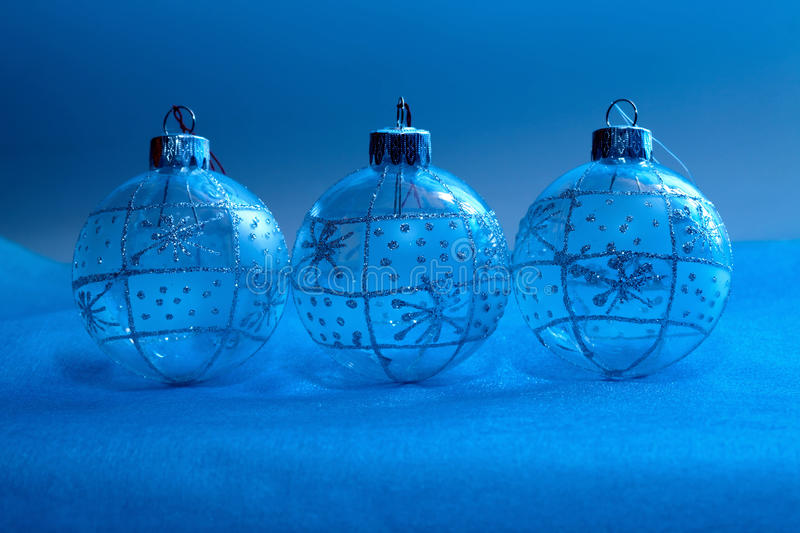 Christmas decorations in neon light royalty free stock photography