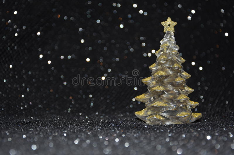 Download Christmas Decorations On A Shiny Black Background Stock Photo - Image of shiny, backgrounds: 83710866
