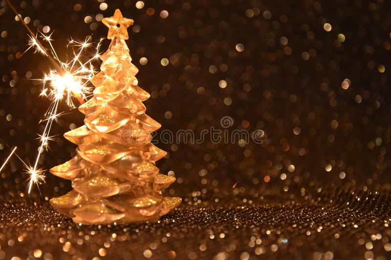 Download Christmas Decorations On A Shiny Black Background Stock Photo - Image: 83710771
