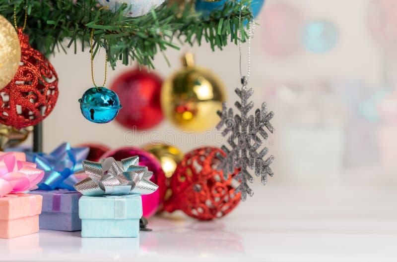 Christmas decorations to celebrate the holiday season royalty free stock photos