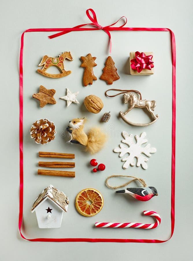 christmas decorations various στοκ φωτογραφίες