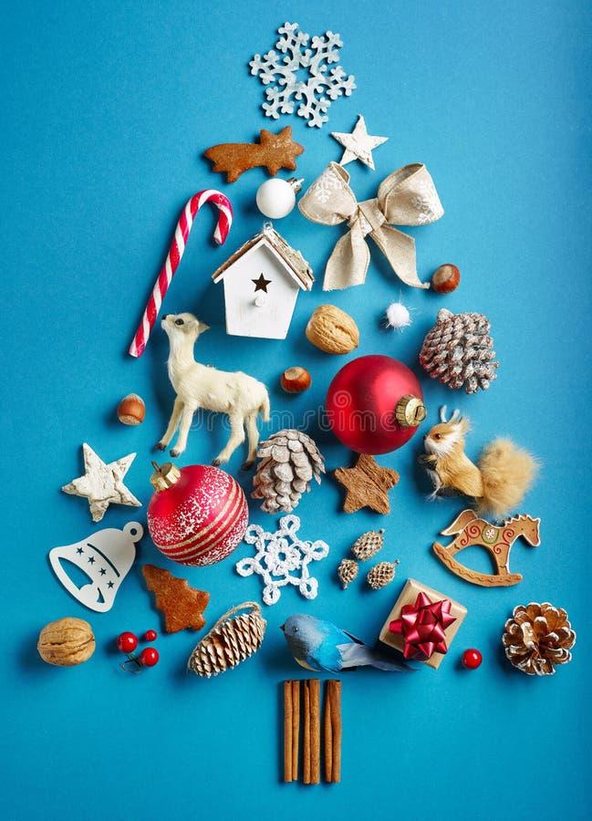 christmas decorations various στοκ φωτογραφία με δικαίωμα ελεύθερης χρήσης
