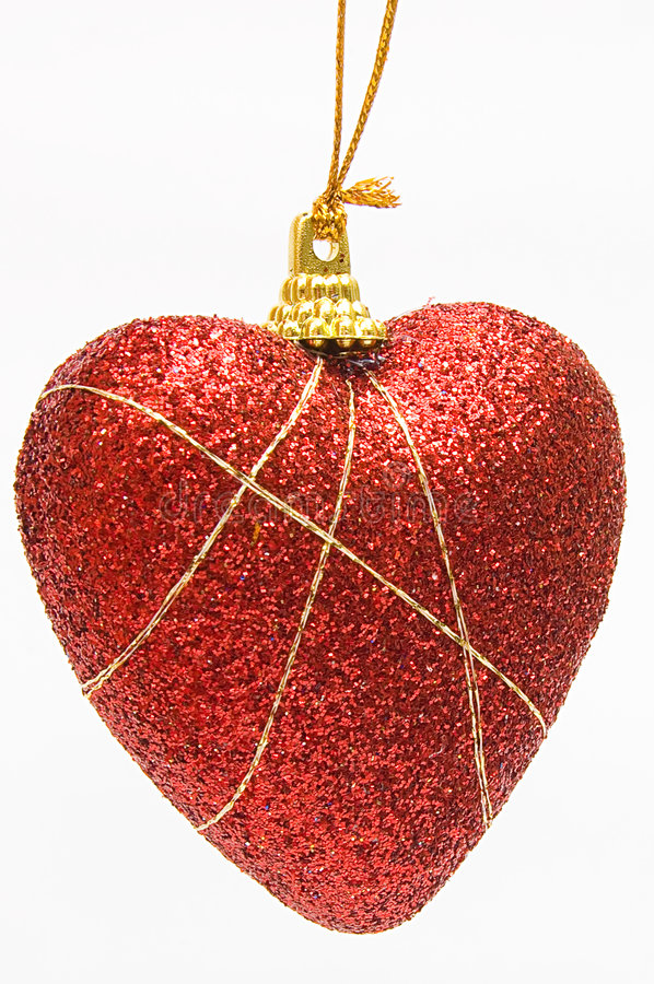 Download Christmas deep red heart stock image. Image of holiday - 7298233