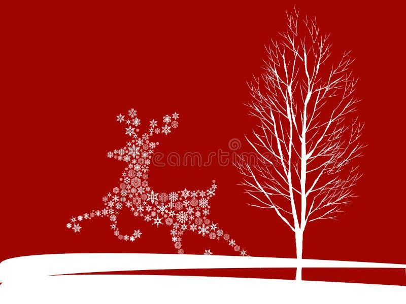 Download Christmas deer stock vector. Image of holiday, magic - 11896263