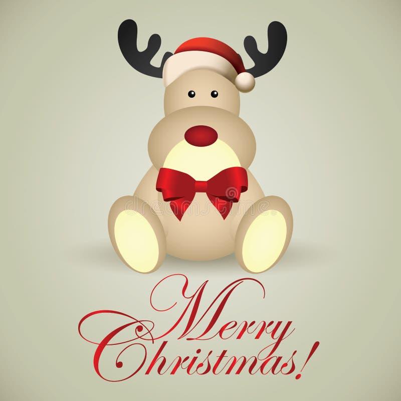Christmas Deer Stock Images