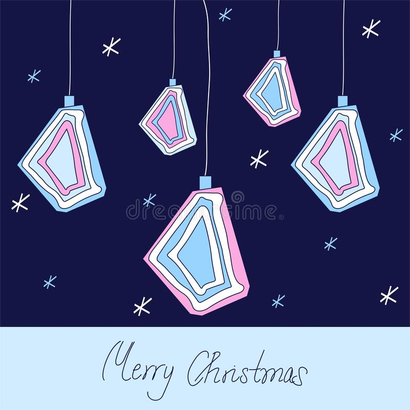 Download Christmas design stock vector. Image of card, white, merry - 16109545