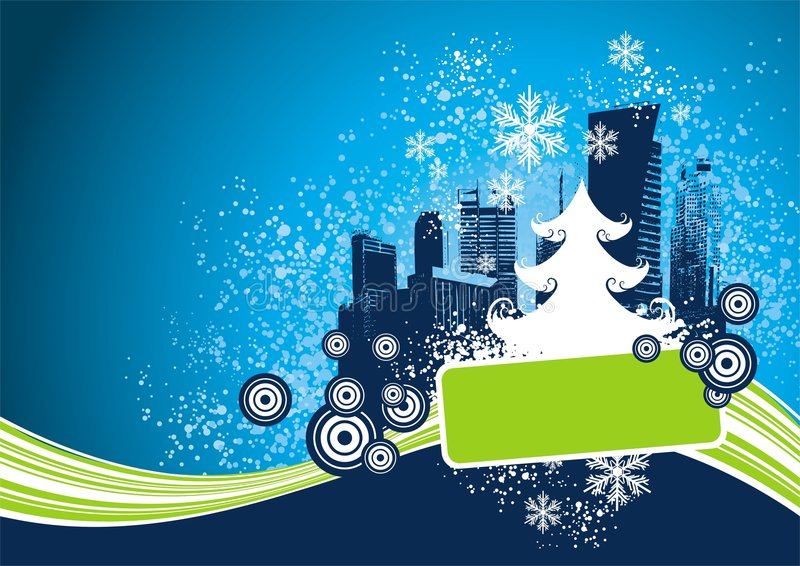 Christmas design royalty free illustration