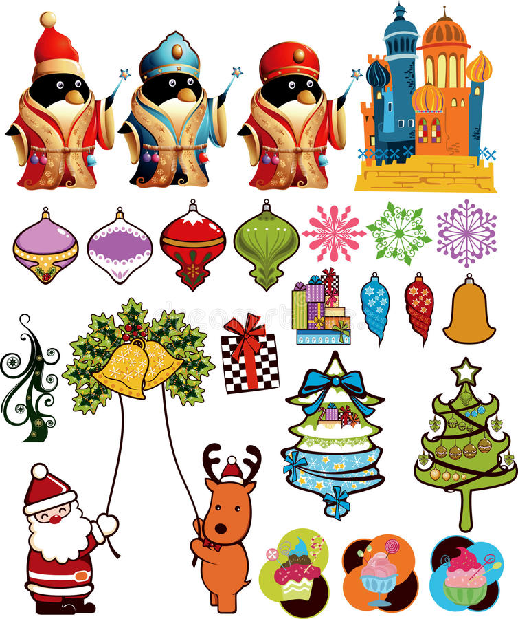 Download Christmas Design Elements 1 Stock Vector - Image: 11815303