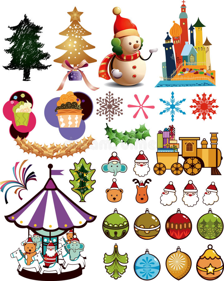 Free Christmas Design Elements 3 Stock Photography - 11815292