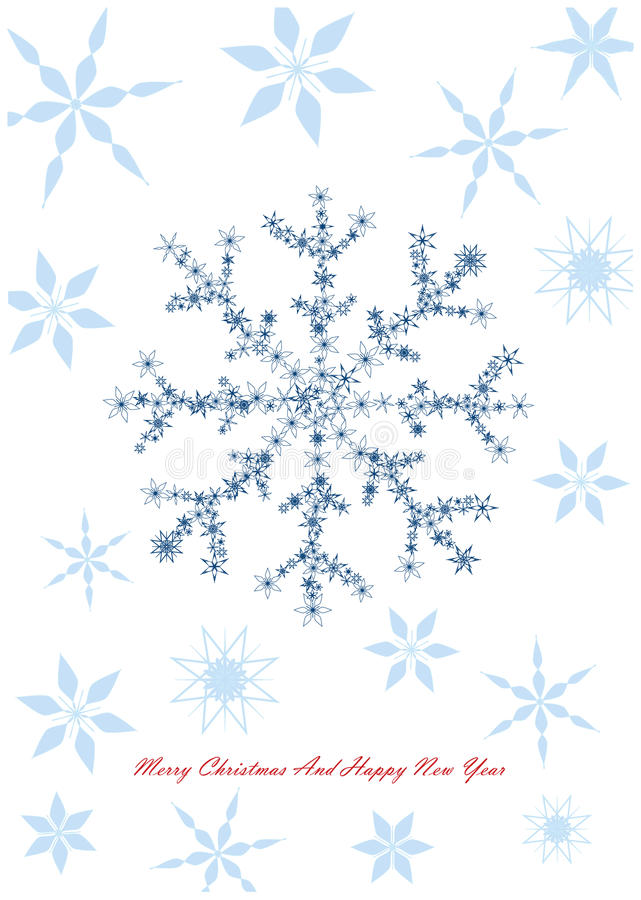 Free Christmas Design With Snowflakes Stock Photos - 32654003