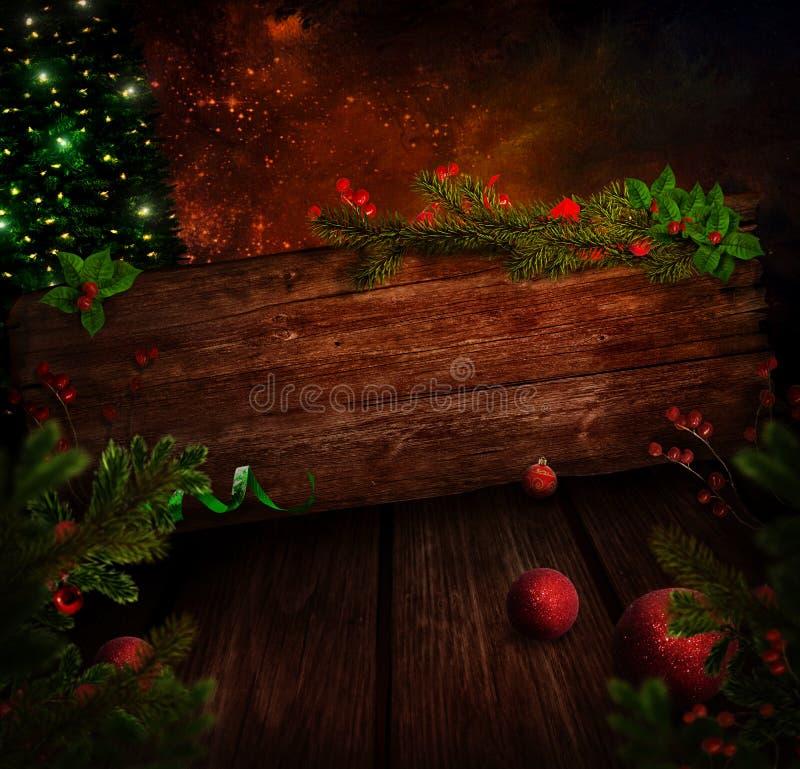 Christmas design - Xmas sign royalty free illustration