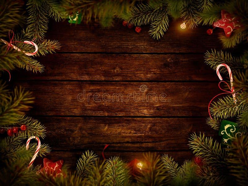 Christmas design - Xmas wreath vector illustration