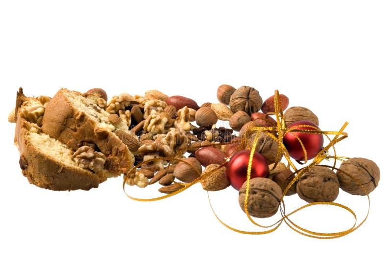 Christmas dessert stock images