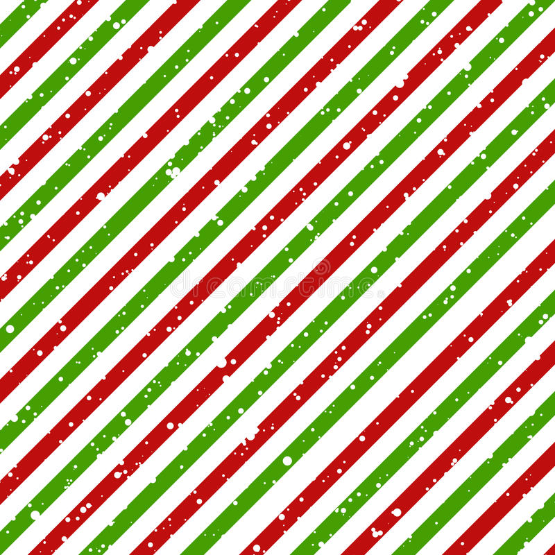 Free Christmas Diagonal Striped Red And Green Lines On White Background With Snow Texture, Vector Stock Images - 98190254