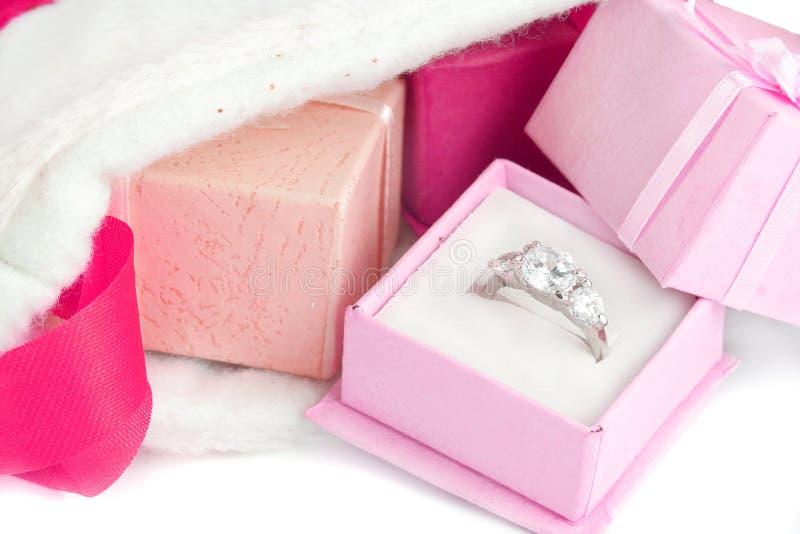 Christmas diamond stock image
