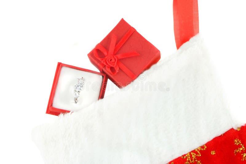 Christmas diamond royalty free stock photography