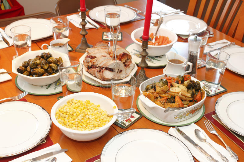 Download Christmas Dinner stock image. Image of interior foods - 39037467 & Christmas Dinner stock image. Image of interior foods - 39037467