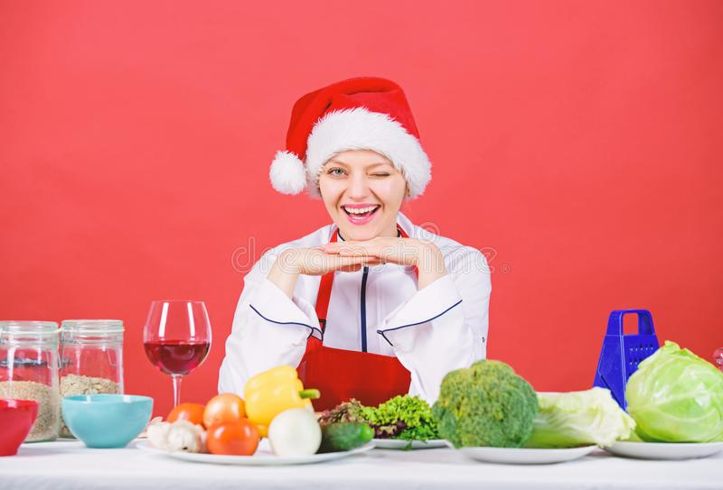 Christmas dinner idea. Healthy christmas holiday recipes. Easy ideas for christmas party. Best christmas recipes of royalty free stock images