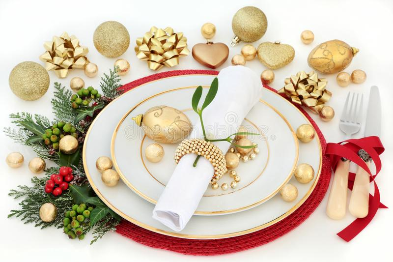 Download Christmas Dinner Table Setting Stock Image - Image of holly lunch 102234935  sc 1 st  Dreamstime.com & Christmas Dinner Table Setting Stock Image - Image of holly lunch ...