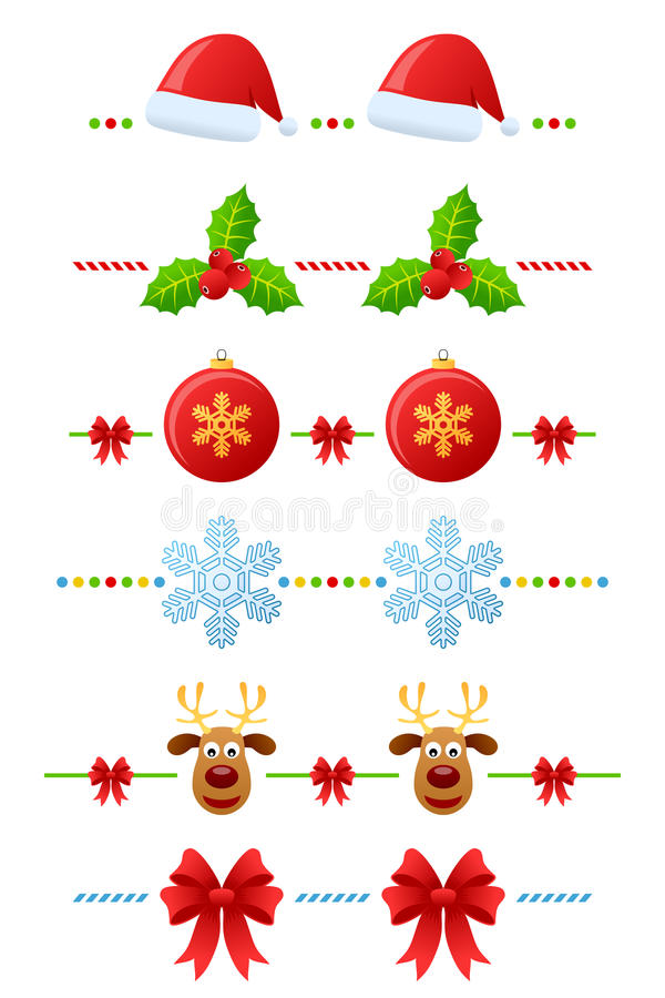 Free Christmas Dividers Set [2] Royalty Free Stock Image - 17157466