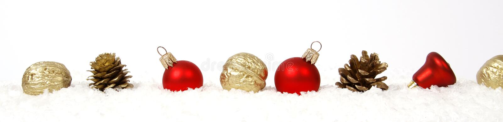 Christmas docoration stock images