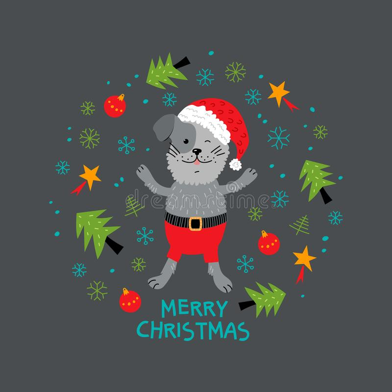 Funny Christmas Rats, Greeting Cards Merry Christmas And