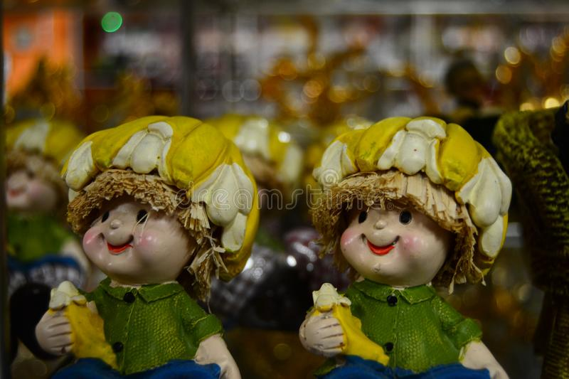 Christmas doll for brosur and banner. This image for your banner and poster stock image