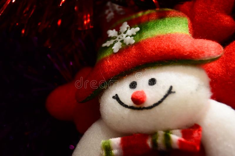 Christmas doll for brosur and banner. This Image for your banner and poster business royalty free stock photography
