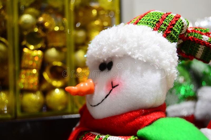 Christmas doll for brosur and banner. This Image for your banner and poster business stock photography