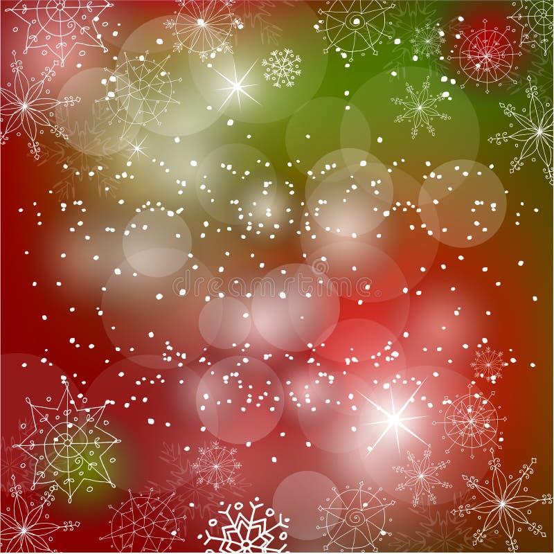 Download Christmas Doodle Greeting Card Design Stock Vector - Illustration of ornament, illustration: 21689670