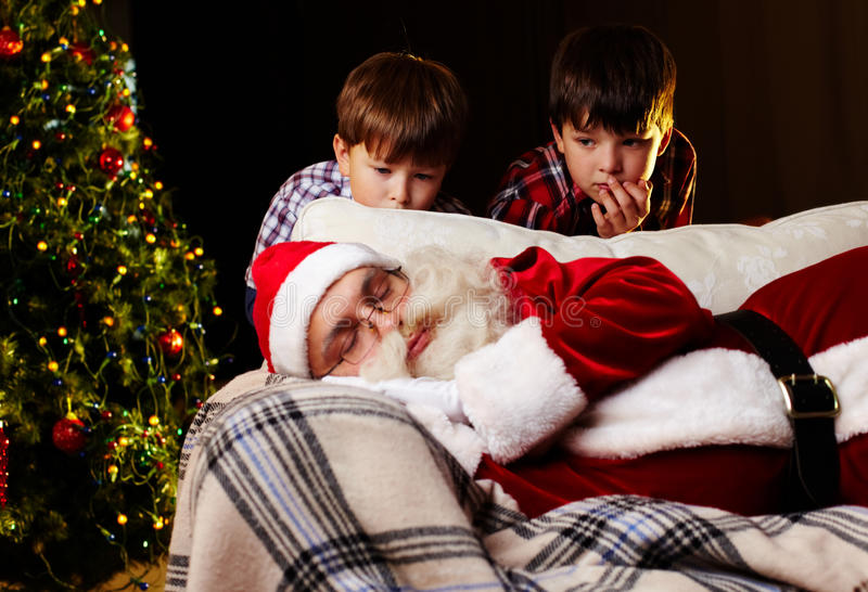 Download Christmas dream stock image. Image of cute, male, christmas - 24515213
