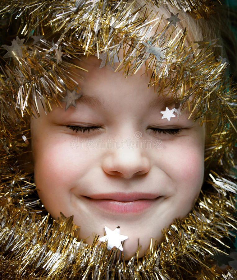 Download Christmas dreams stock image. Image of eyes, eight, celebration - 17282845