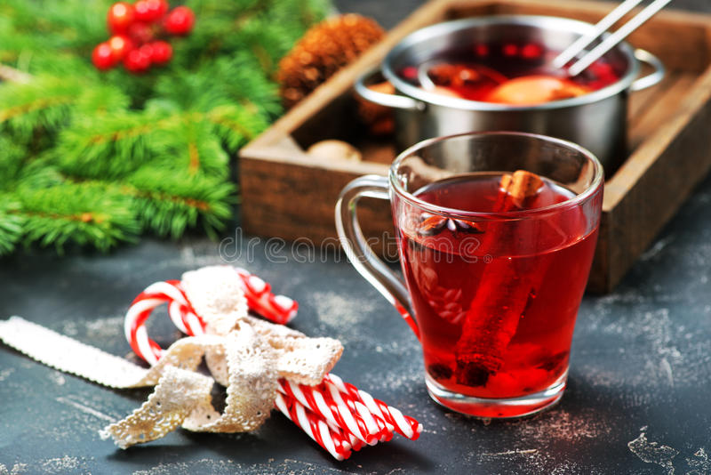 Christmas drink stock images