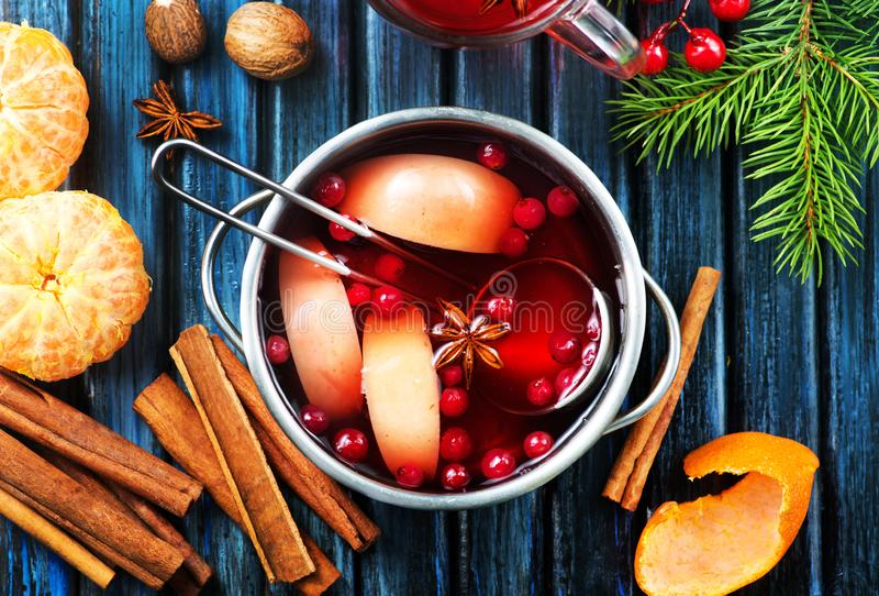 Christmas drink royalty free stock image