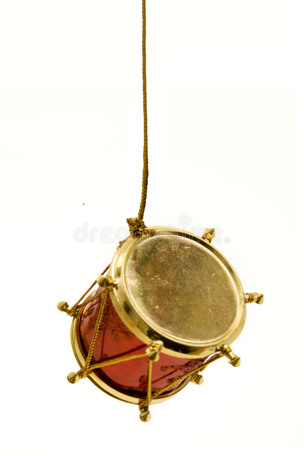 Free Christmas Drum Hanging Royalty Free Stock Photography - 6358237