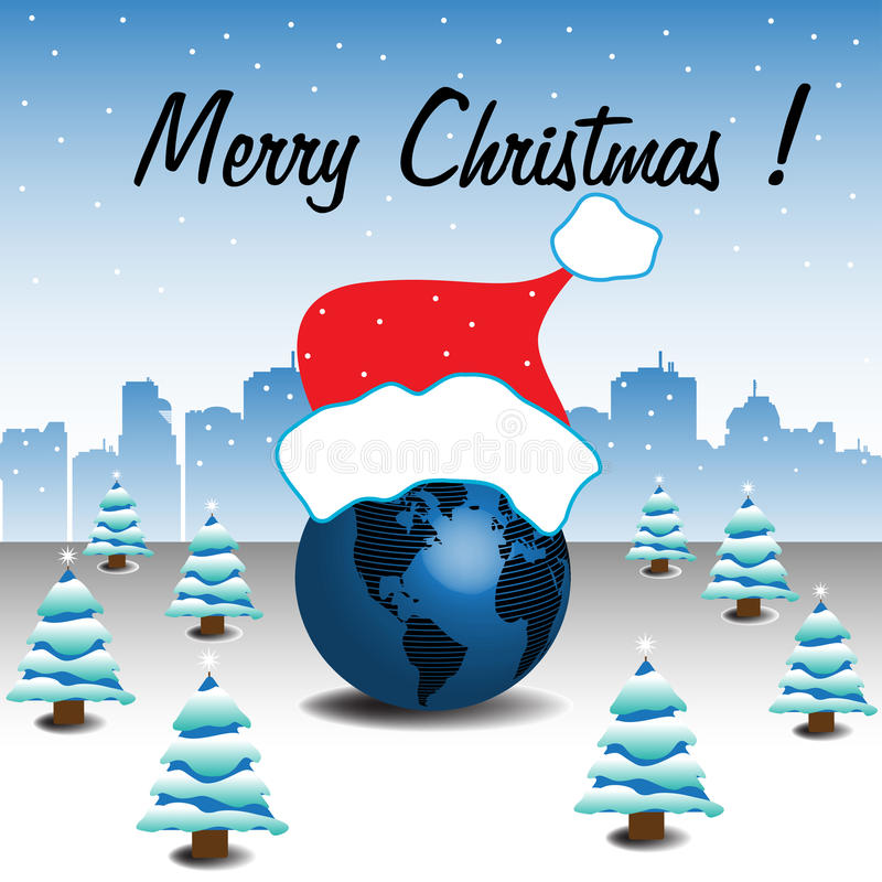 Christmas On Earth Royalty Free Stock Images
