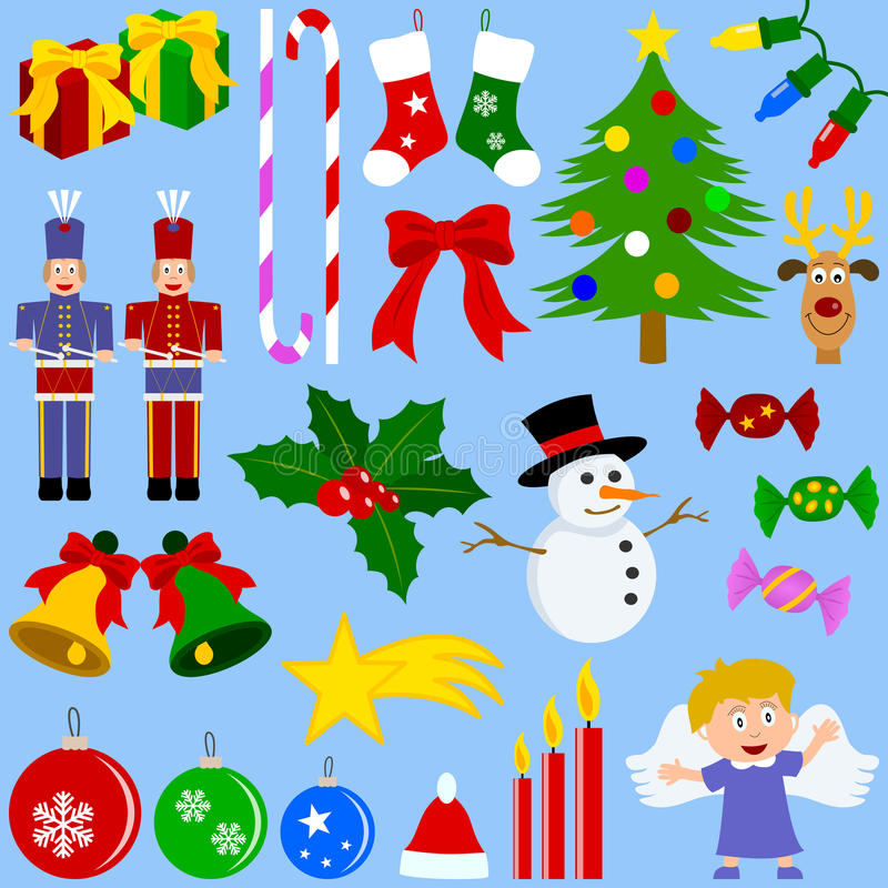 Download Christmas Elements Collection Stock Vector - Image: 11226967