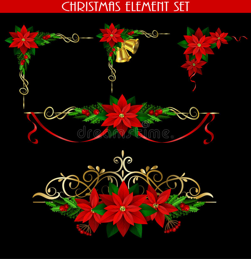 Free Christmas Elements For Your Designs Royalty Free Stock Images - 82551449