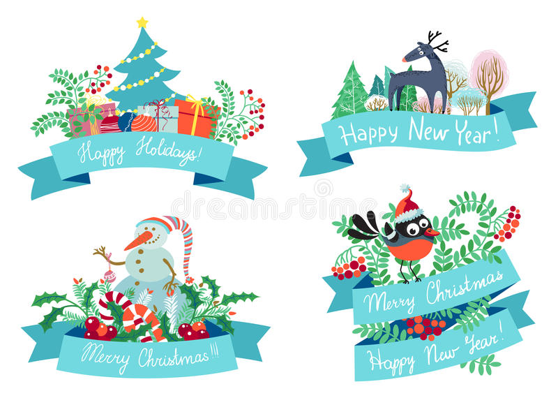 Download Christmas elements stock image. Image of happiness, decorative - 34853717