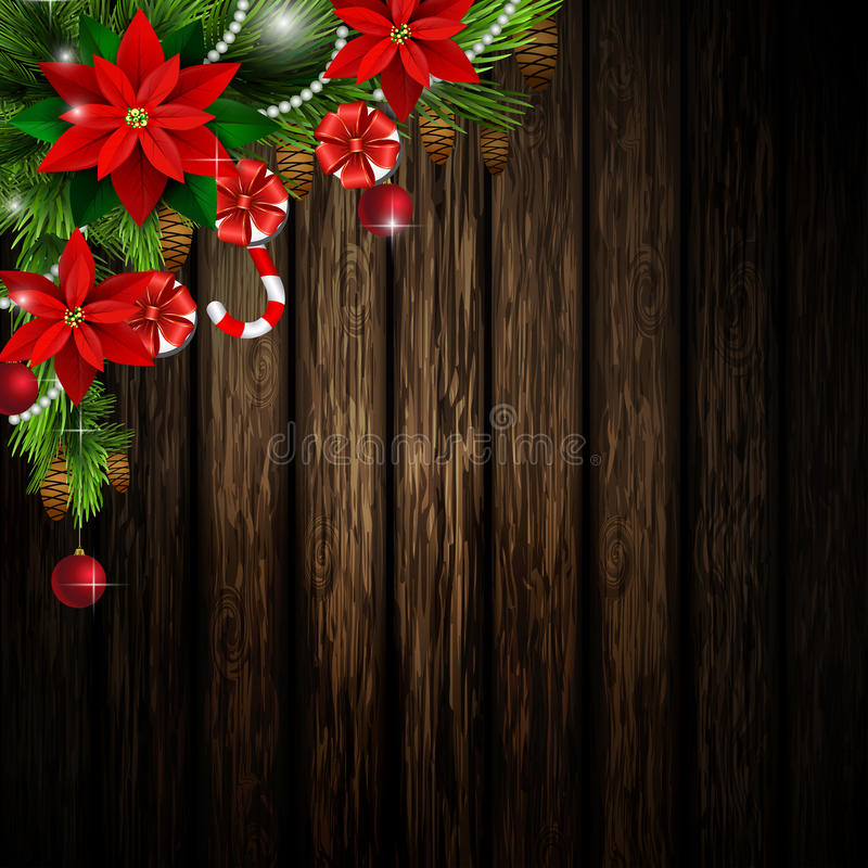 Christmas elements for your designs stock illustration