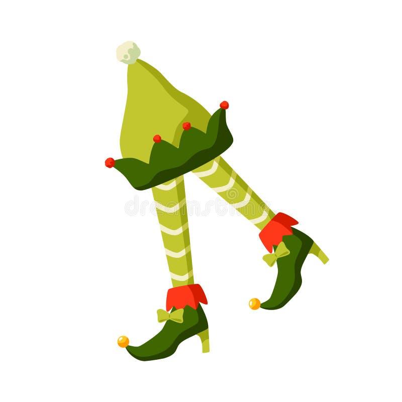 Christmas Santa/'S Helper Elf Green Jester Hat W// Bells Holiday Costume Accessory