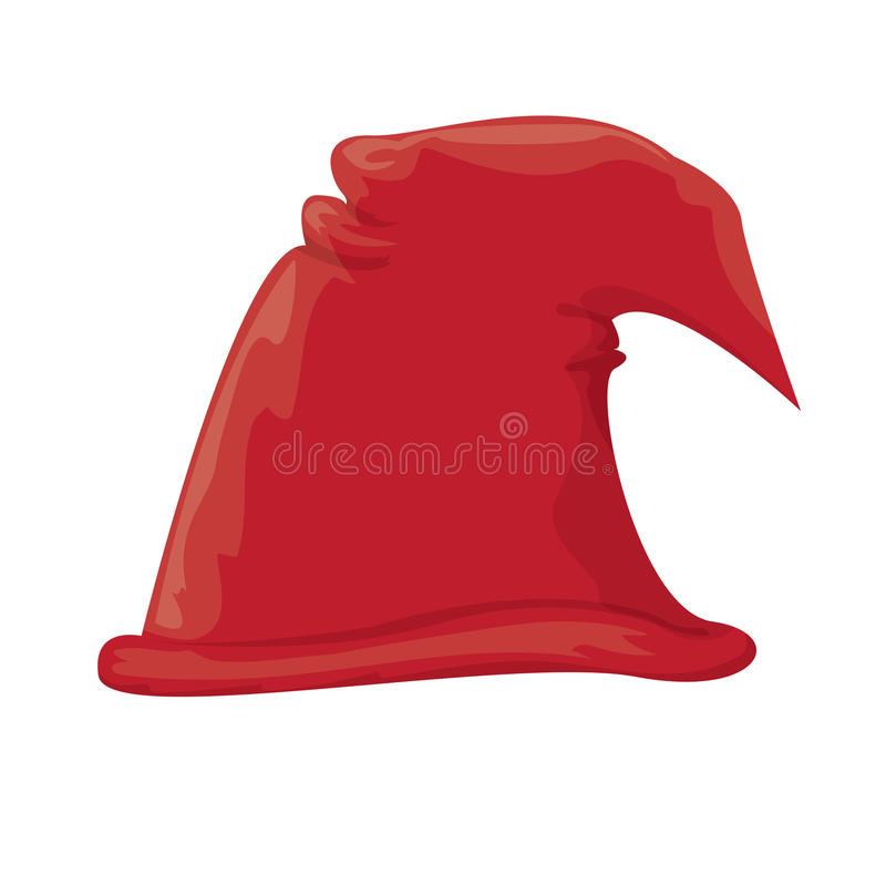 Christmas elf hat. vector illustration vector illustration