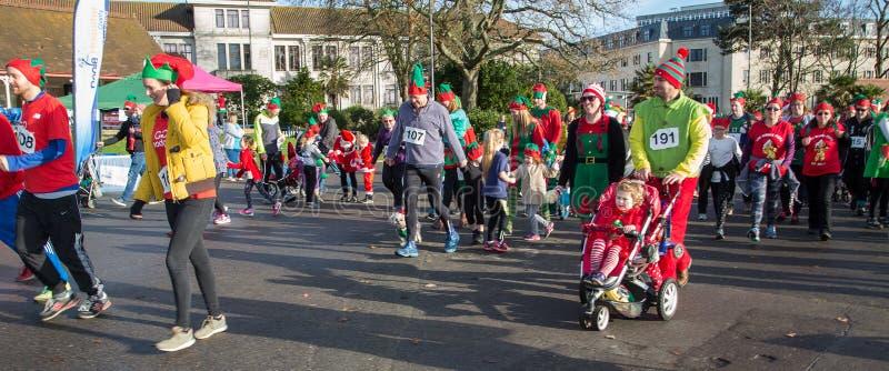 Christmas Elf Parade Free Public Domain Cc0 Image